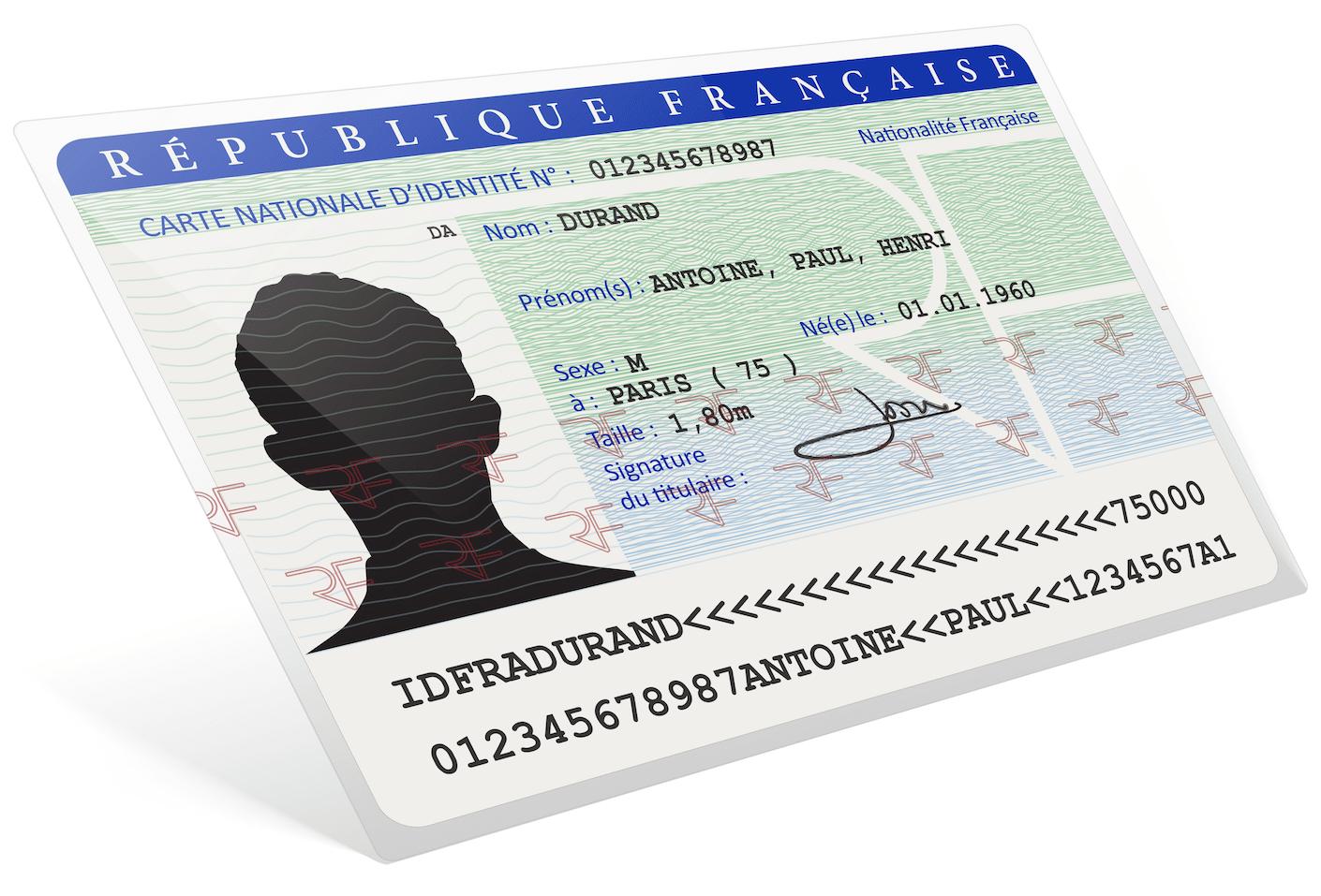 carte d'identité - séjour à Budapest