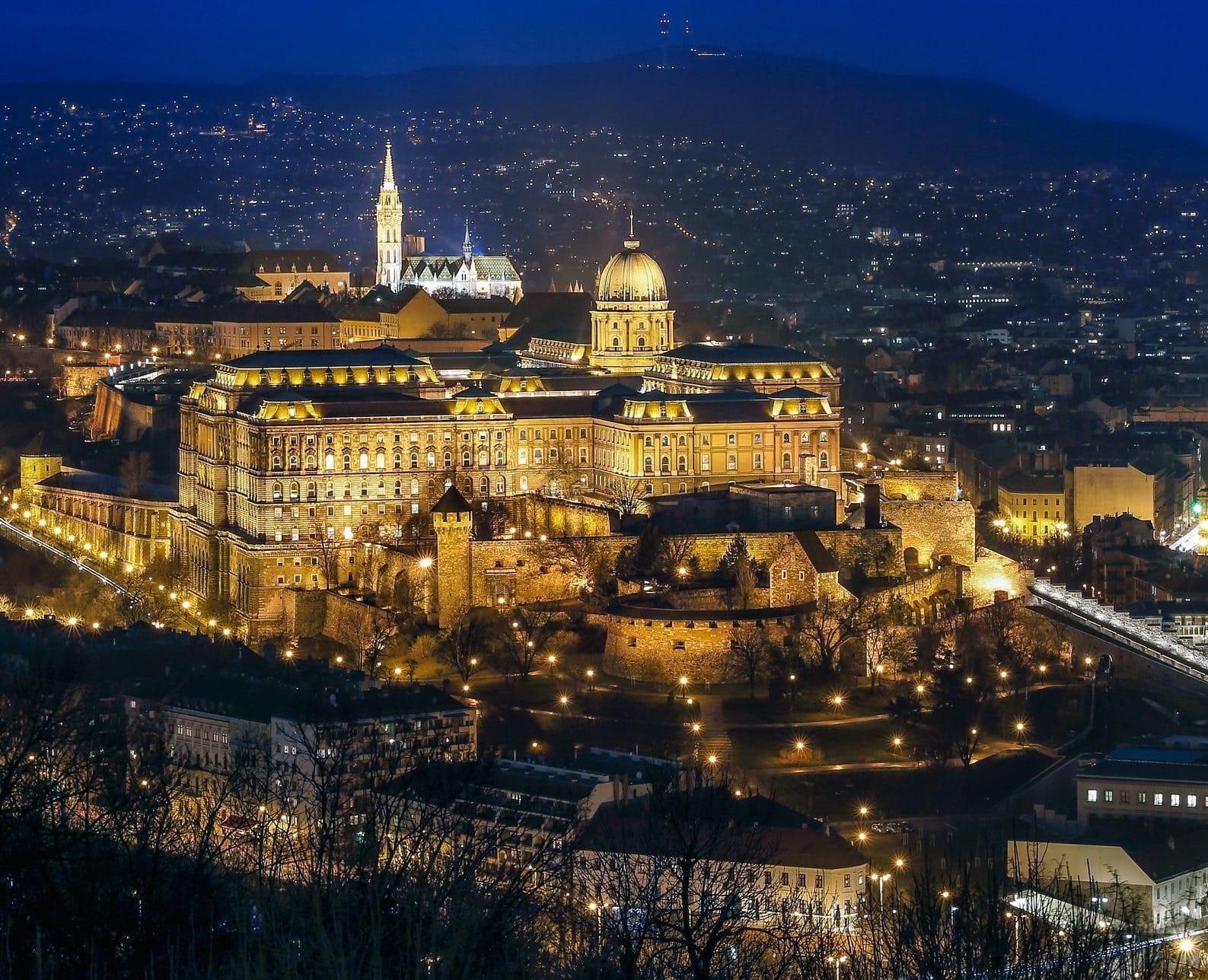 visiter Budapest : Chateau de Budapest