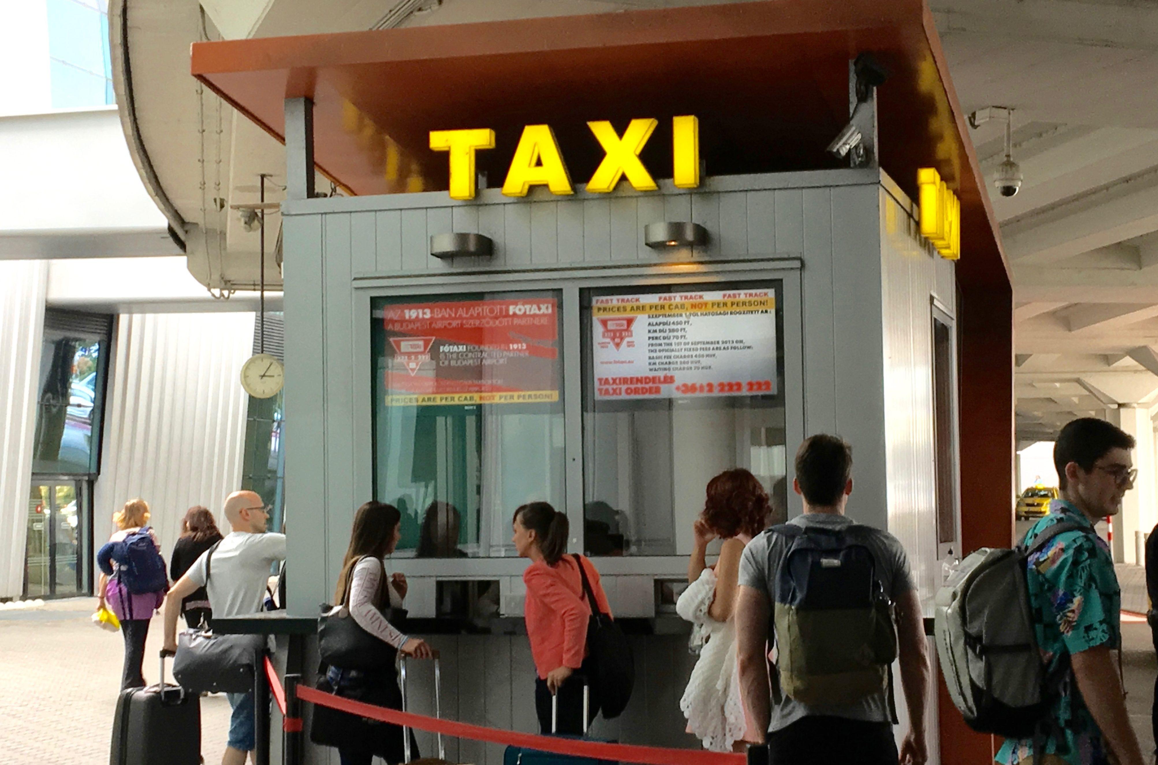 taxi aeroport de budapest