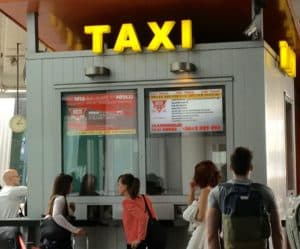 aeroport de budapest taxis