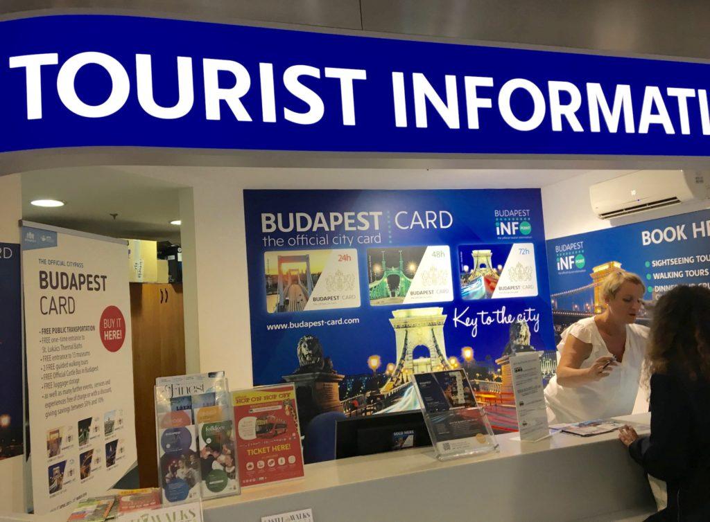 touriste information budapest aéroport