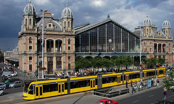 transports publics de Budapest tramway