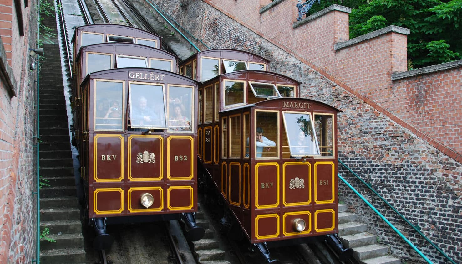 Funiculaire Chateau de Budapest