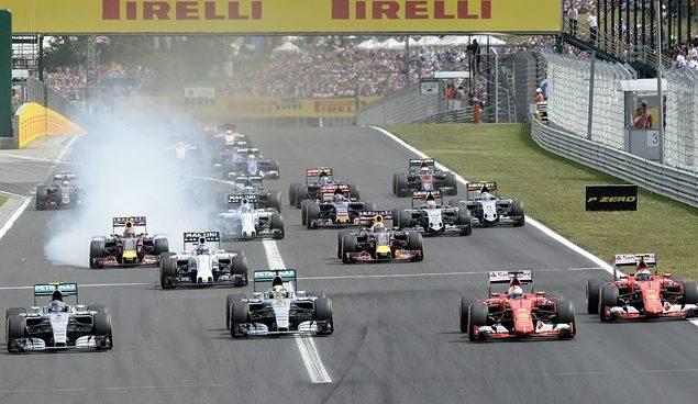 Formule 1 budapest en juillet 2018