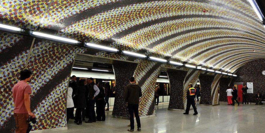 transports publics de Budapest station métro Gellért