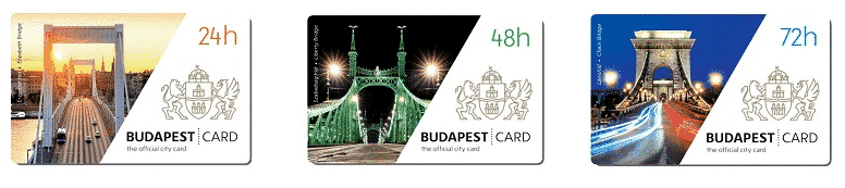 Budapest card transports publics