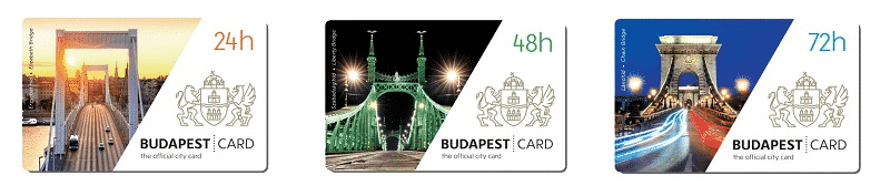 Budapest Card transports publics