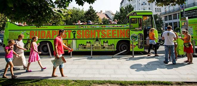 bus touristique budapest