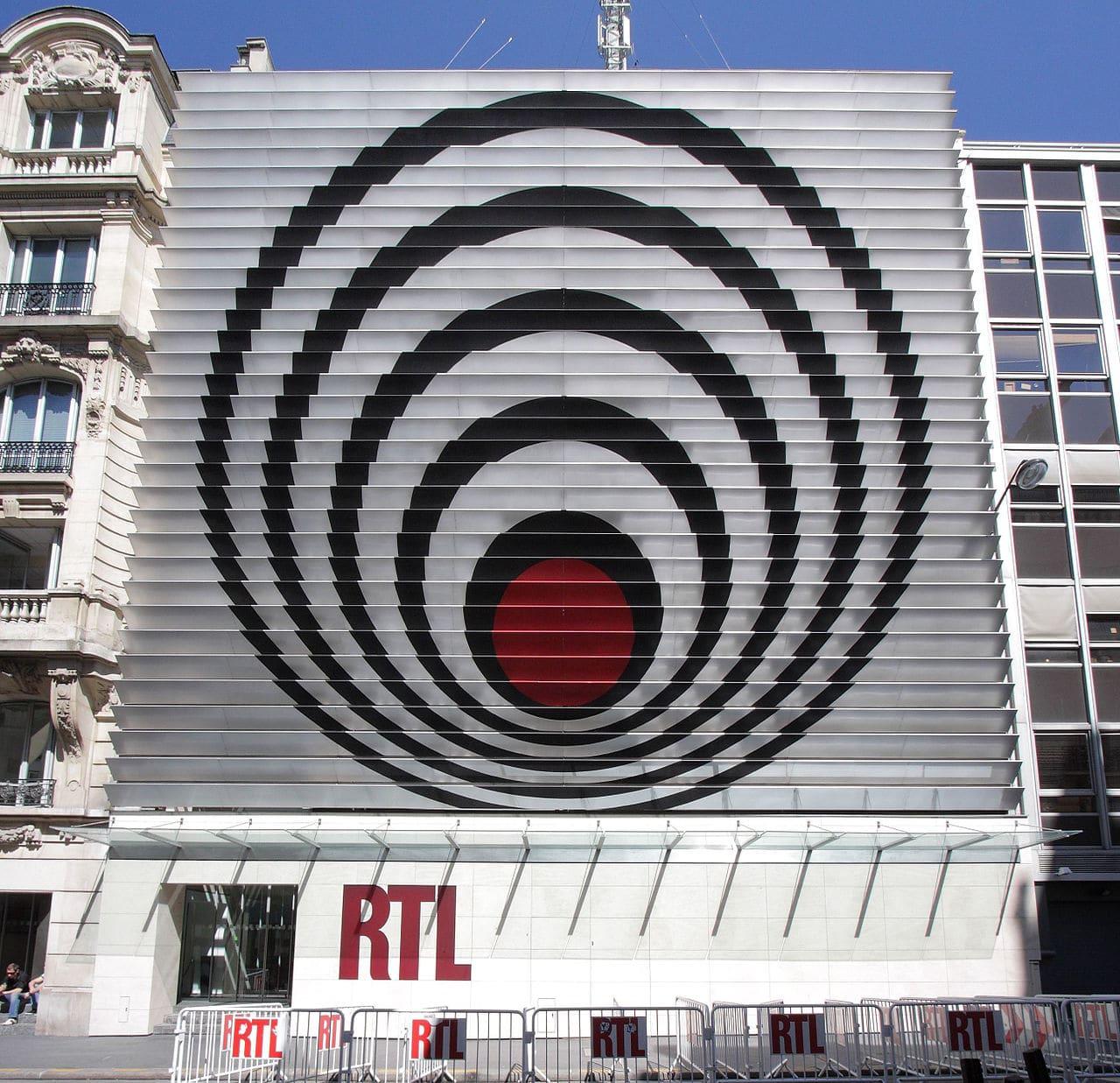 Facade RTL vasarely
