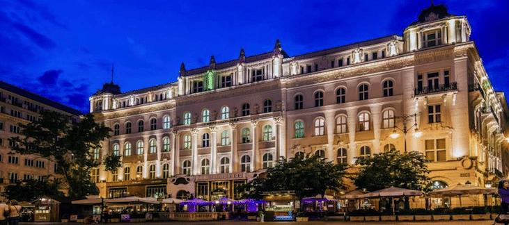 café gerbeaud a Budapest
