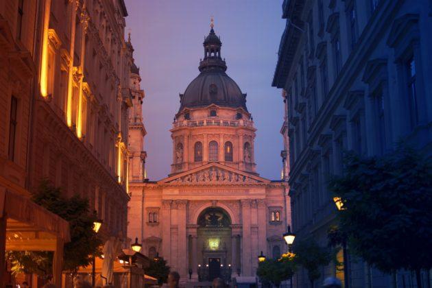 Basilique St Etienne à Budapest