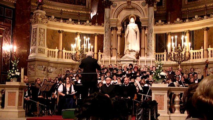concert a la basilique St Etienne de Budapest