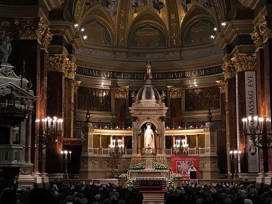 concert budapest basilique