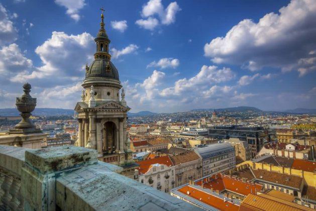 basilique St Etienne Budapest vue