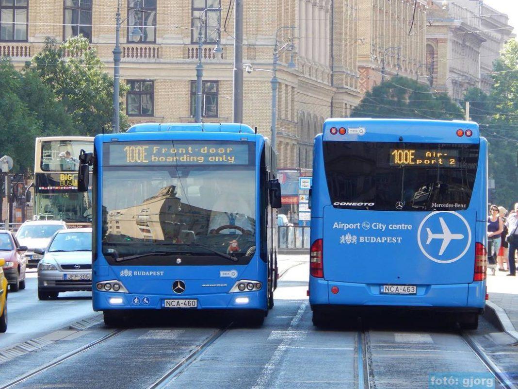 bus aeroport budapest centre ville