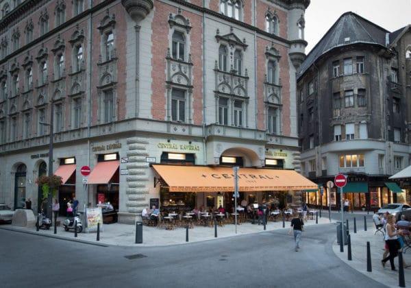 le café central a Budapest