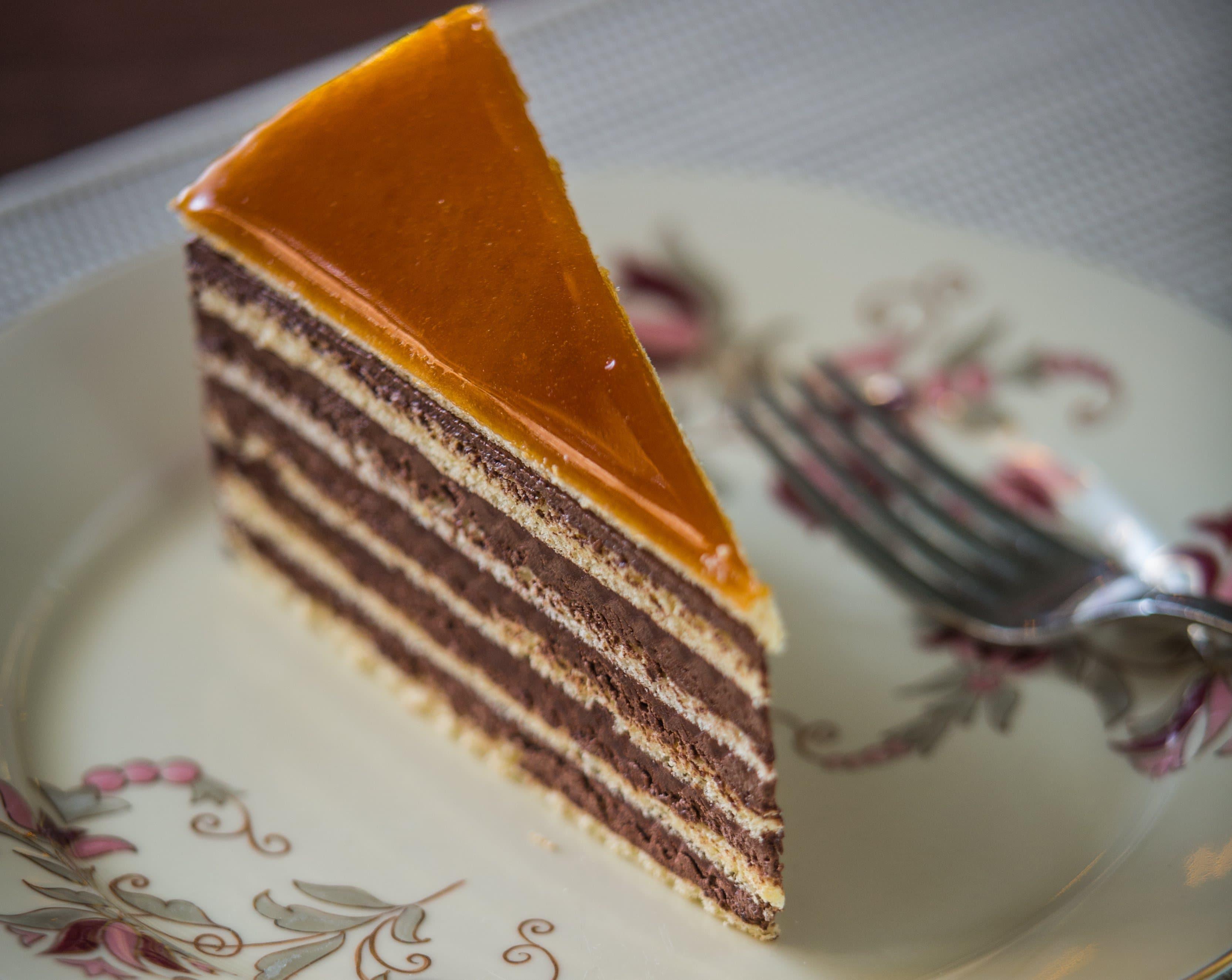 gateau hongrois Dobos torta