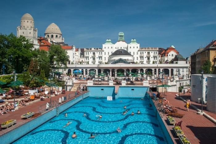 bains Gellért thermes de Budapest