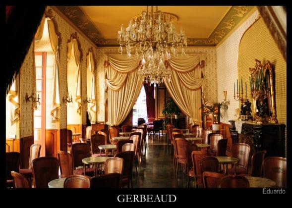 intérieur café gerbeaud budapest
