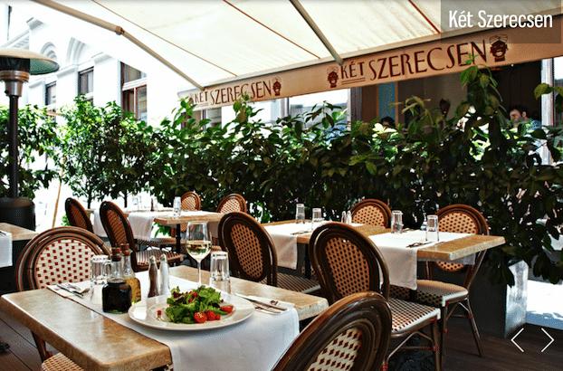 Ket szerecsen restaurant a budapest