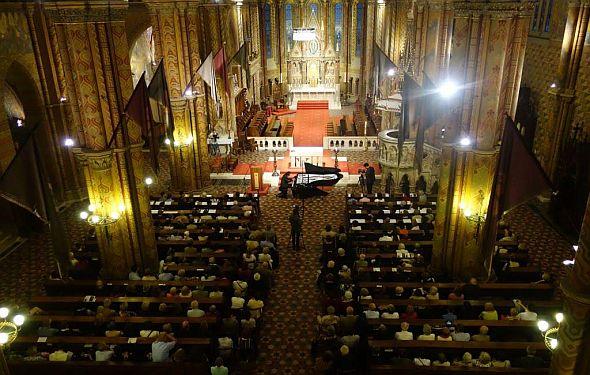 église matthias Budapest concert