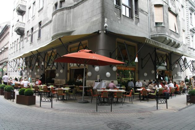 restaurant menza Budapest