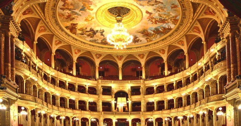 opéra budapest intérieur