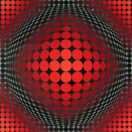 Vasarely expo Budapest