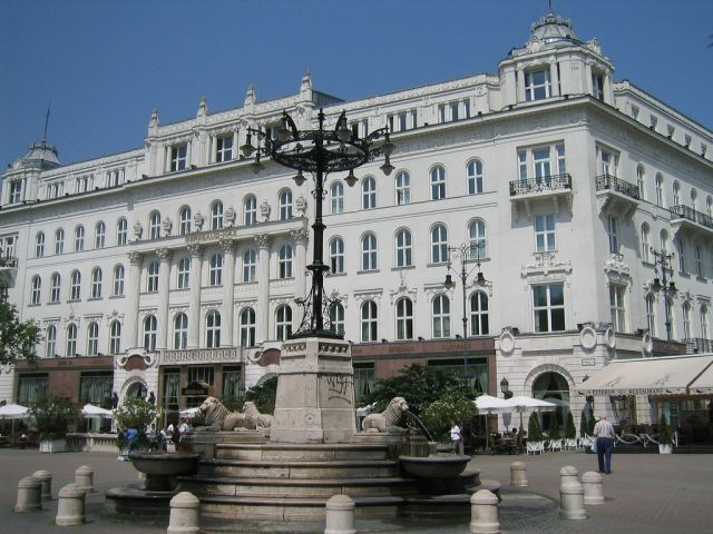 café Gerbeaud de Budapest