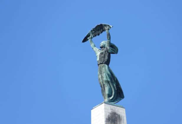 statue citadelle Budapest
