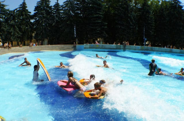 piscines budapest enfants
