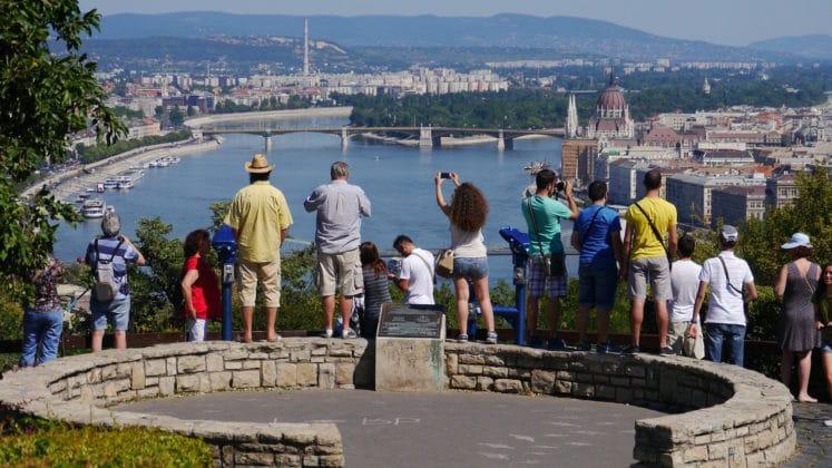 vue de la citadelle de Budapest