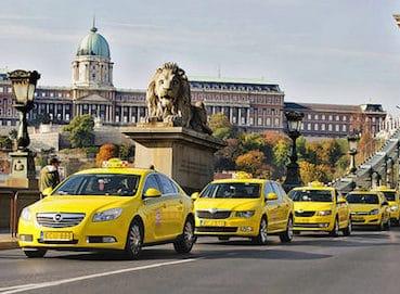 taxis de budapest