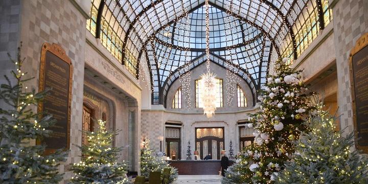 marché de noel à budapest four seasons hotel