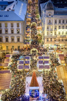marché noel budapest basilique