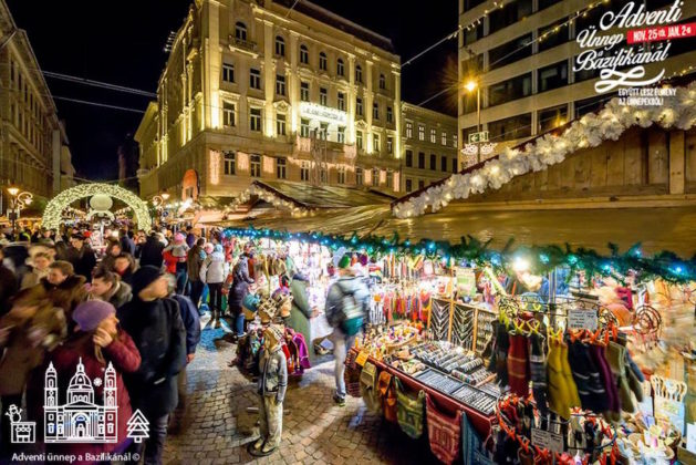 marché noel budapest basilique st etienne