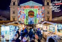 marché noel de budapest basilique