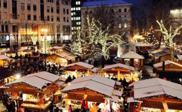 marché noel budapest