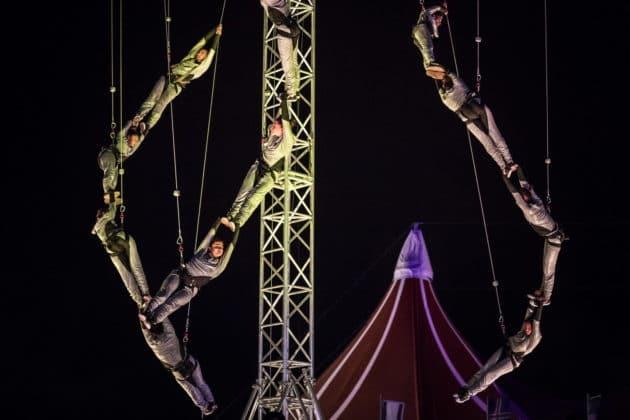 cirque acrobatique Budapest