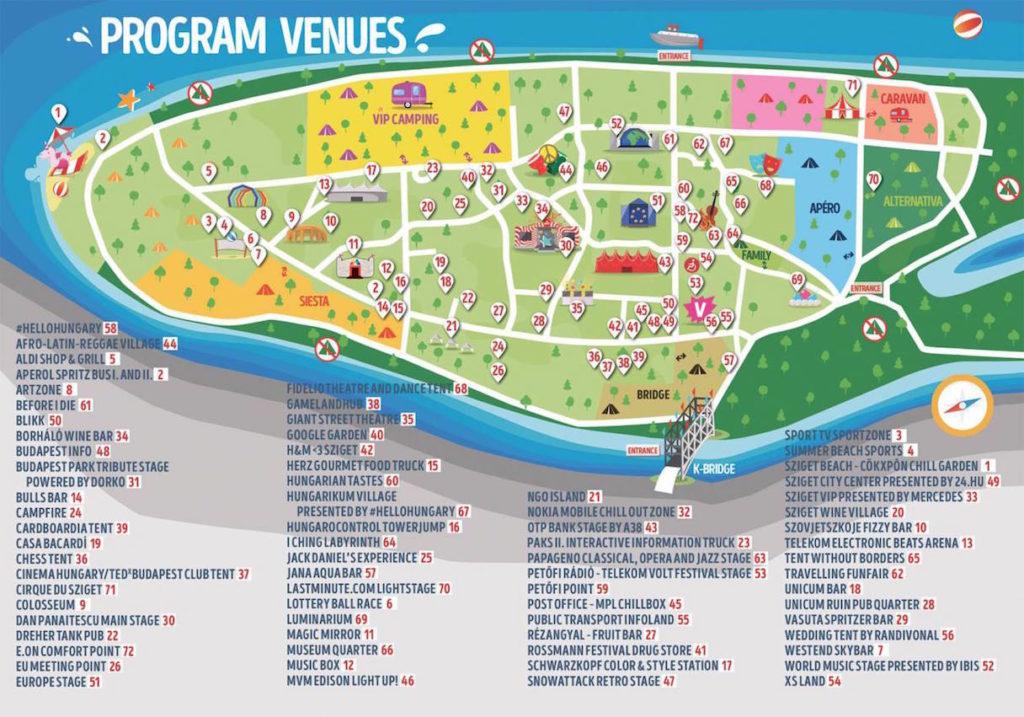 festival sziget de budapest
