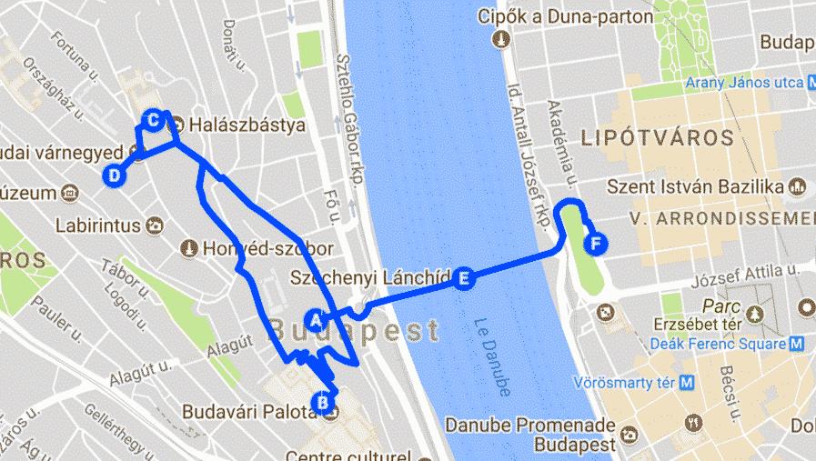 visiter budapest en 4 jours - jour 1