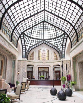 visiter Budapest - palace Gresham