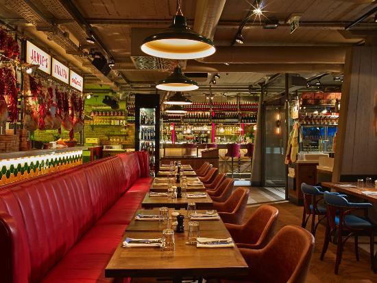 jamie oliver restaurant budapest