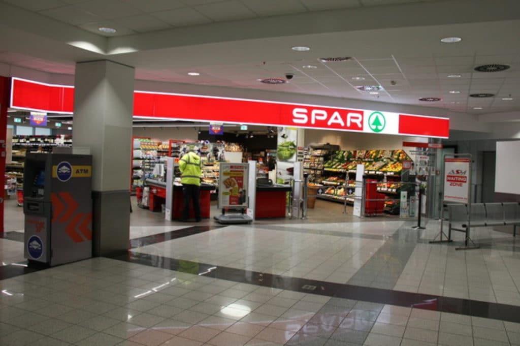 supermarché spar aéroport de budapest