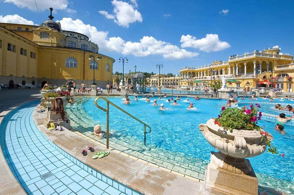 top 10 des bains de Budapest