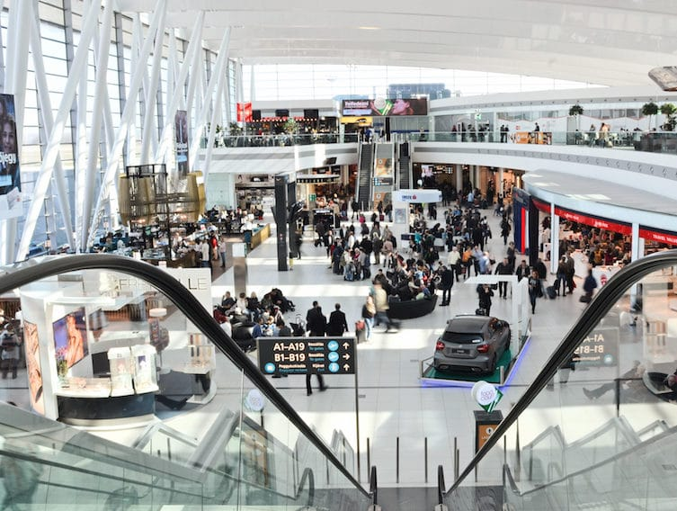 aéroport de Budapest hall central