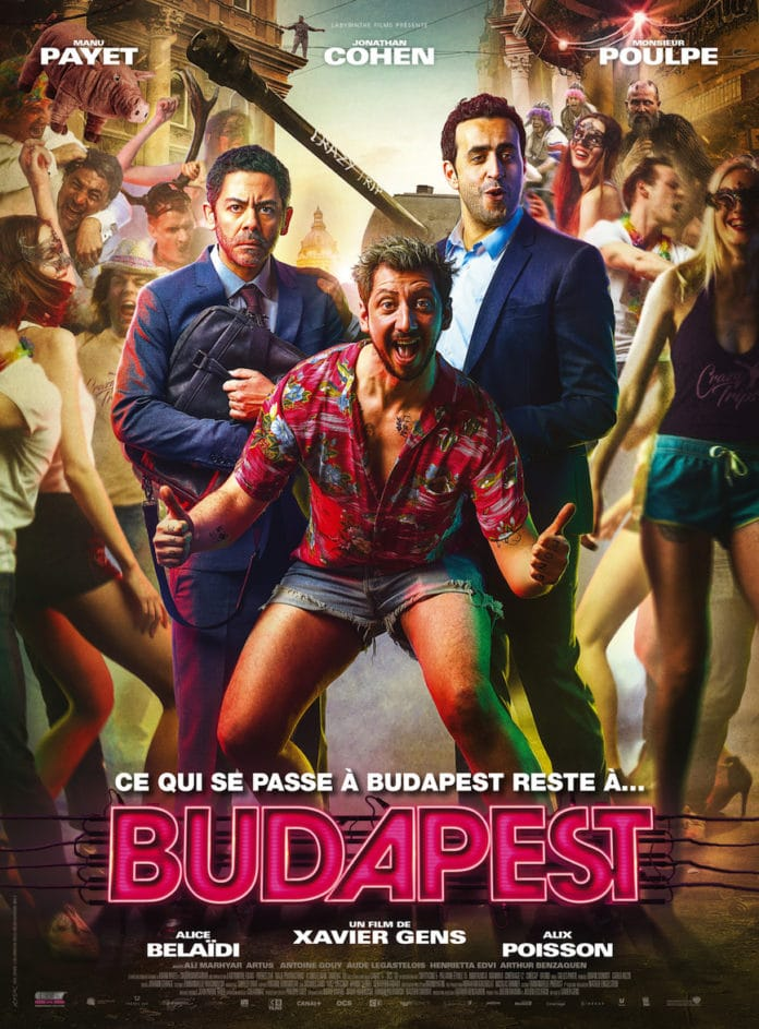 film Budapest avec Manu Payet