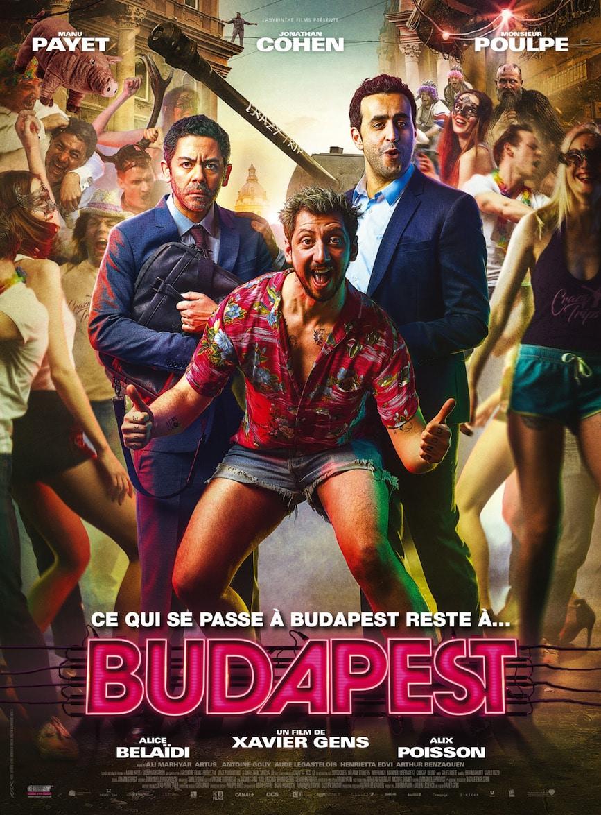 le film budapest avec manu payet sur les crans le 27 juin 2018 budapest bons plans. Black Bedroom Furniture Sets. Home Design Ideas