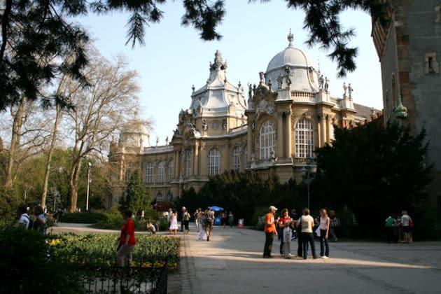 visiter chateau Vajdahunyad à Budapest