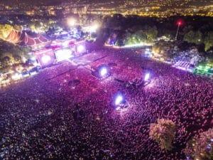 Concert festival Sziget Hongrie